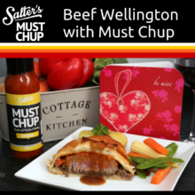 Beef Wellington with Must Chup
